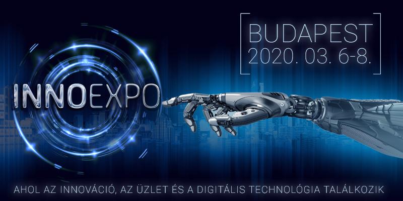 INNOEXPO TECHNOLÓGIAI KIÁLLITÁS ÉS VÁSÁR – 2020 március 6-8.