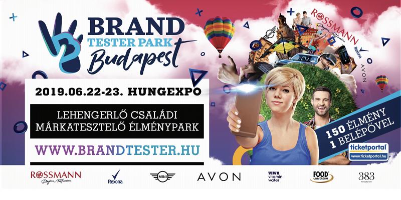 Júniusban újra BRAND TESTER Park