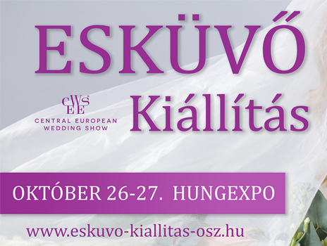 V. Őszi Esküvő Kiállítás –  2019. október 26-27.