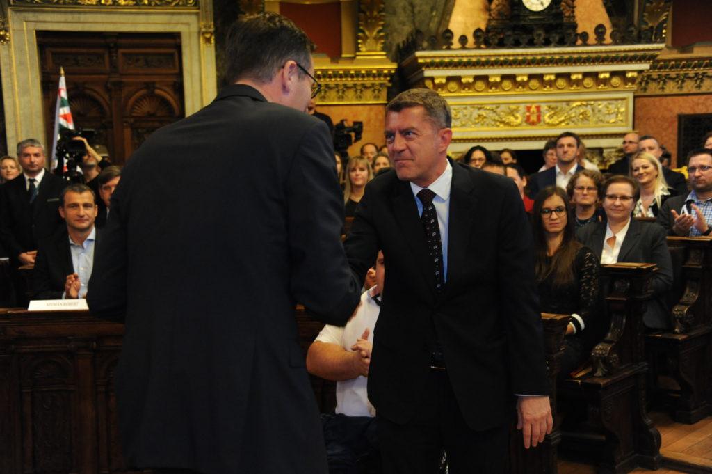 Fővárosi elismerést kapott Ganczer Gábor